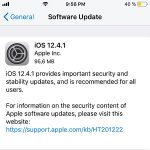 ios 12.4.1 software update