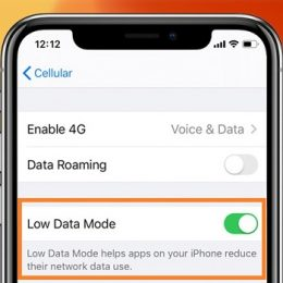 ios 13 low data mode for iphone