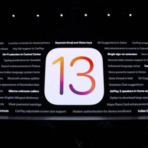 iOS 13 to be released on September 19
