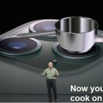 iphone camera lens used as a cook stove