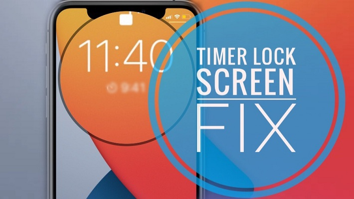 Timer not showing on Lock Screen in iOS 14