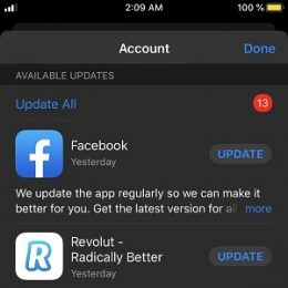 How to manually update apps in iOS 13.