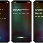 coronavirus cdc questionnaire on iPhone via Siri