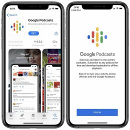 Google Podcasts now available for iOS