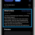 Apple Support version 4.0 software update log