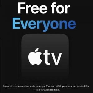 Apple TV+ free for everyone
