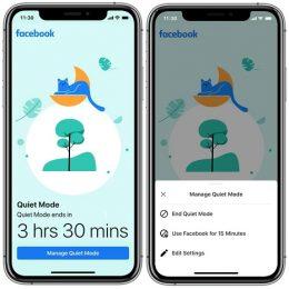 Facebook adds new Quiet Mode feature