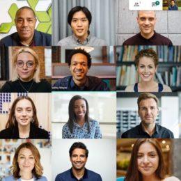 Google Meet video conference call screenshot