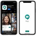 Hangouts Meet app for ios