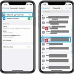 how to edit a weak password on iphone