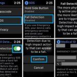 how to enable fall detection on apple watch