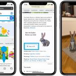 how to project the easter bunny with your iPhone in your living room