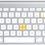 how to type the degree symbol on a Mac