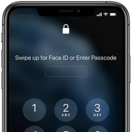 iPhone prompts for Passcode when user wears a mask