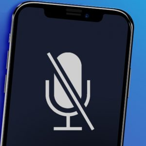 iPhone with microphone problem