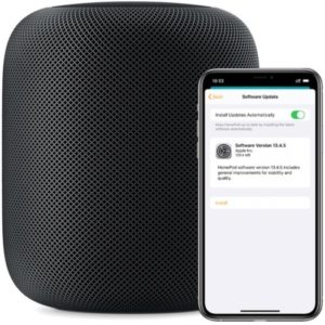 HomePod software update