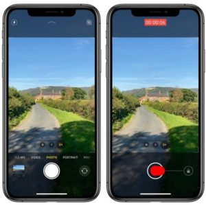 How to QuickTake videos on iPhone 11