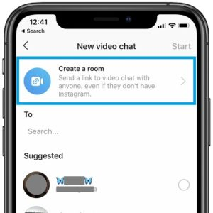 How to create Instagram group video chat with up to 50 participants