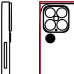 Leaked iPhone 13 quadruple-lens Camera module