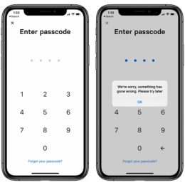 Revolut not recognizing Passcode and not allowing user to log in