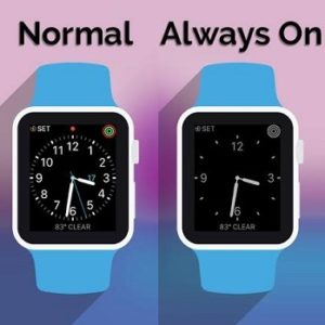 The Apple Watch Always On Feature