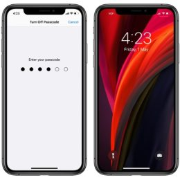Using iPhone 11 without Passcode