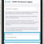 how to delete covid-19 exposure log from iPhone