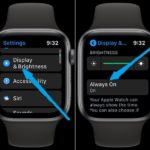 how to disable Apple Watch Always On feature