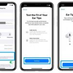 how to perform AirPods Pro ear fit test