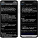 iOS 13.5 full update log