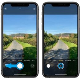iPhone 11 Pro Burst mode trick