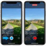 iPhone QuickTake video shortcut
