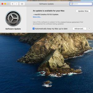 macOS Catalina 10.15.5 Software Update