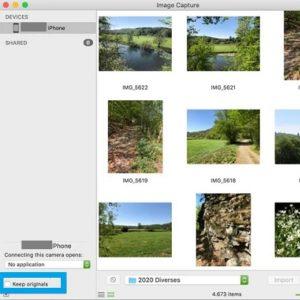 macOS Image Capture bug fix