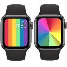 watchOS 6.2.5 new Pride Watch Faces