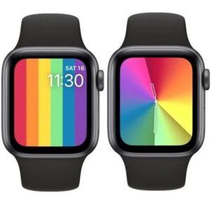 watchOS 6.2.5 new Pride Watch Faces