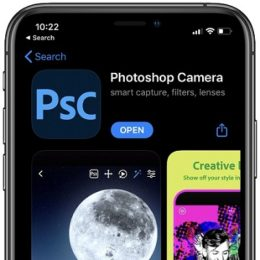 Adobe Photoshop Camera app for iPhone