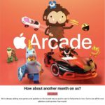 Apple Arcade extra free trial month