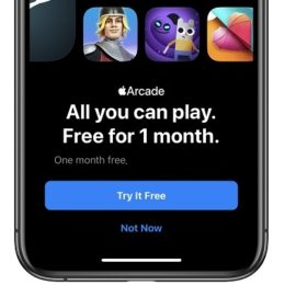 Apple Arcade one month free trial