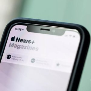 Apple News Magazine reading position