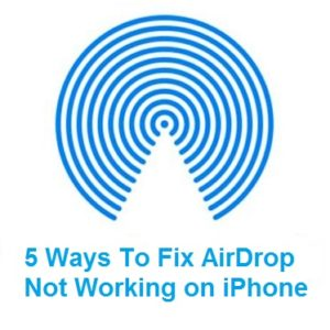 How to fix AirDrop not working on iPhone