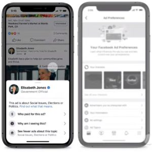 Turning Off Facebook Political Ads