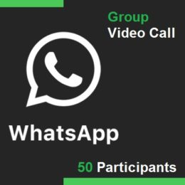 WhatsApp group video call with up to 50 members