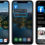 how to delete and reinstall Facebook on iPhone