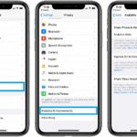 how to disable Siri & Dictation data logs on iPhone