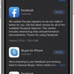 how to update Facebook for iOS