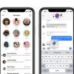 iOS 14 Messages with inline replies, mentions and group photo