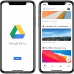 sharing large files from iPhone with Google Drive