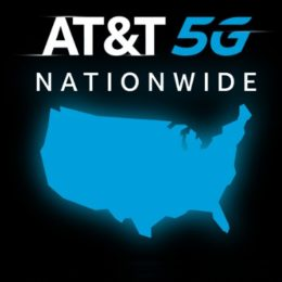 AT&T 5G nationwide coverage