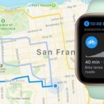 Apple Maps Cycling directions on Apple Watch